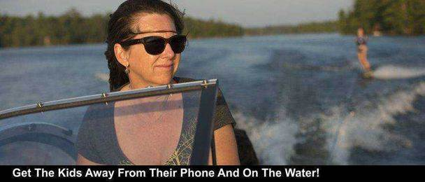 Get The Kids Away From Their Phone And On The Water!
