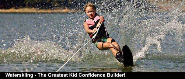 Waterskiing - The Greatest Kid Confidence Builder!